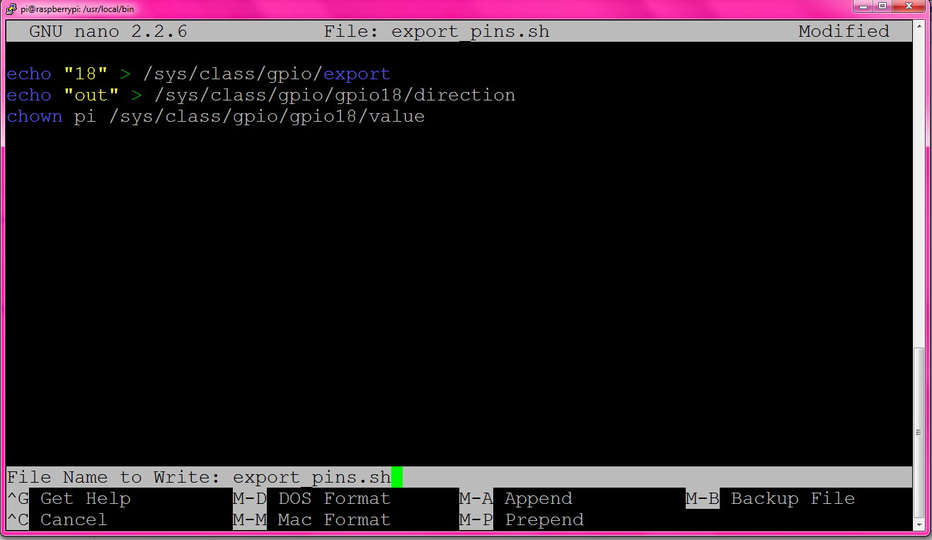 Uoit Git Drogon Wiringpi Terminal Commands To Enable Gpio On Raspberry Pi